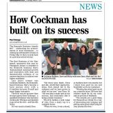 "Exmouth Journal - 9th March 2017 ""How Cockman has built on its success"""